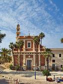 Kostel svatého pitere v jaffě — Stock fotografie