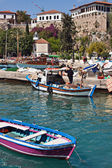 Boats In Antalya'S Marina, Turkey — Foto Stock