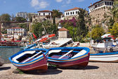 Boats In Antalya'S Marina, Turkey — Stock Photo