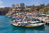 Boats In The Antalya'S Marina — Stock Photo