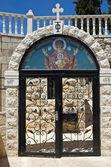 Church gate — Stock Photo