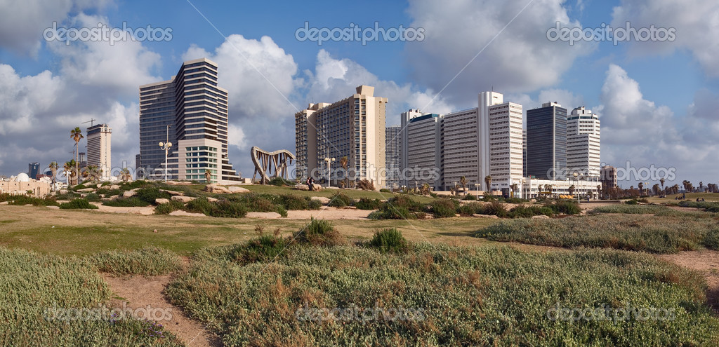 Embankment in Tel-Aviv, Israel   Stock Photo #2696880