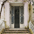 Old house door - Stock Photo