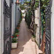 Stock Photo: Anacapri street, Capri,
