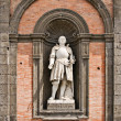 King Alfonse, Palazzo Reale, Naples - Stock Photo