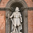 King Roger II, Palazzo Reale, Naples — Stock Photo
