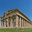 Temple Of Athena, Paestum, Italy - Stock Photo