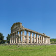 Temple Of Neptune, Paestum, Italy - Foto Stock