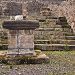 Aesculapius temple, Pompeii — Stock Photo