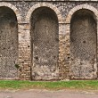 Stock Photo: Pompeii Amphitheater Detail