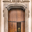 Church door - Stock Photo