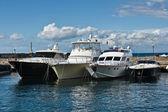 Yachts In Marina Grande, Capri, Italy — Stock Photo