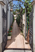 Anacapri street, Capri, — Stock Photo
