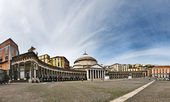 San Francesco di Paola church, Naples — Stock Photo