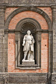 King Alfonse, Palazzo Reale, Naples — Stock Photo