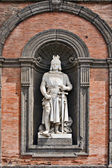 King Frederick II, Palazzo Reale, Naples — Stock Photo
