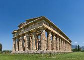 храм афины, пестум, италия — Стоковое фото