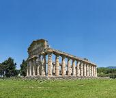 świątynię neptuna, paestum, włochy — Zdjęcie stockowe