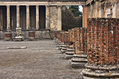 Basilica and Tribunal, Pompeii — Stock Photo