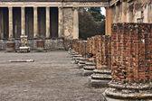 Basilica and Tribunal, Pompeii — Stock Photo