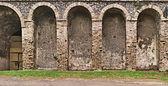 Détail d'amphithéâtre de pompéi — Photo