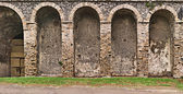 Pompeii Amphitheater Detail — Photo