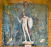 Mars fresco, Pompeii — Stock Photo