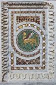 San pantaleone mosaico catedral decorati — Fotografia Stock