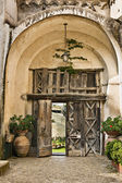 Villa Cimbrone arch gate — Stock Photo