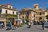 Piazza Sant Antonio, Sorrento — Stock Photo
