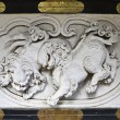 Lions Decorative bas-relief — Stock Photo
