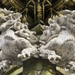 Lions Decorative Sculpture — Stock Photo