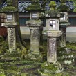 Stock Photo: Lanterns In KasugShinto Shrine