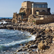 Caesarea Harbor — Foto Stock