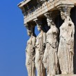 Caryatids Of Erechtheum — Stock Photo