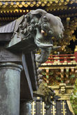 Elefant Heads In Shinto Shrine — Stock Photo