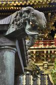Elefant cabeças no xintoísmo santuário — Foto Stock