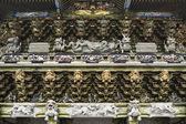 Parede de xintoísmo santuário tosho-gu — Foto Stock