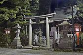 Templo xintoísta — Foto Stock