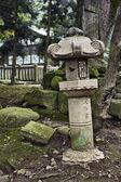 Lanterna no xintoísmo santuário kasuga — Foto Stock