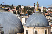 Church of the Holy Sepulchre domes — Stock Photo