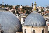 Kirche der heiligen sepulchre kuppeln — Stockfoto