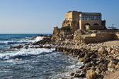 Caesarea harbor — Stockfoto