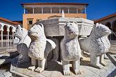 Lions Fountain — Stock Photo