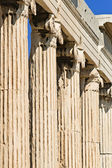 Erechtheum Columns — Stock Photo