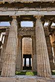 Temple Of Hephaestus colonnade — Stock Photo