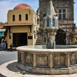 Medieval Fountain — Foto de Stock