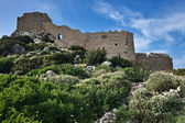 Kritinia Castle, Rhodes Island, Greece — Stock Photo