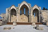 Romanic Basilica Ruins — Stock Photo