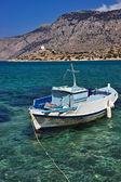 Маленькая рыбацкая лодка — Стоковое фото